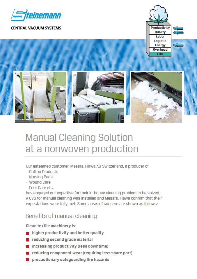 Manual-Cleaning-Solution-at-a-Nonwoven-Production(FLAWA)